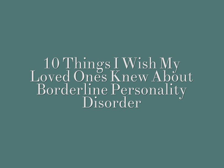 If you love someone with BPD, this could help.