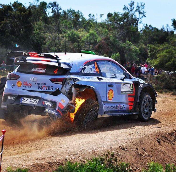 """846 Me gusta, 1 comentarios - Foto Rally WRC (@wrcmotorsport) en Instagram: """"@haydenpaddon @hmsgofficial Rally d'Italia •Foto: @backs_23…"""""""