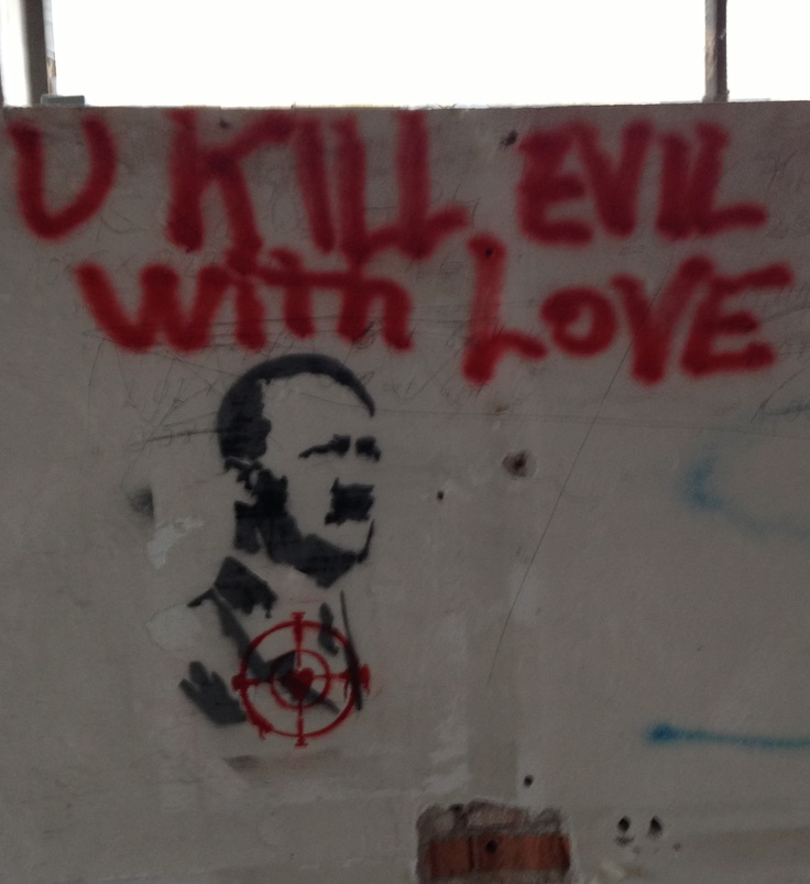 whitout love evil grows