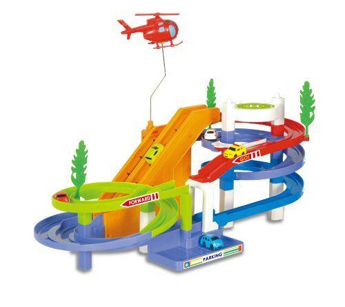 Liberty Imports Track Racer Racing Car Toy Set