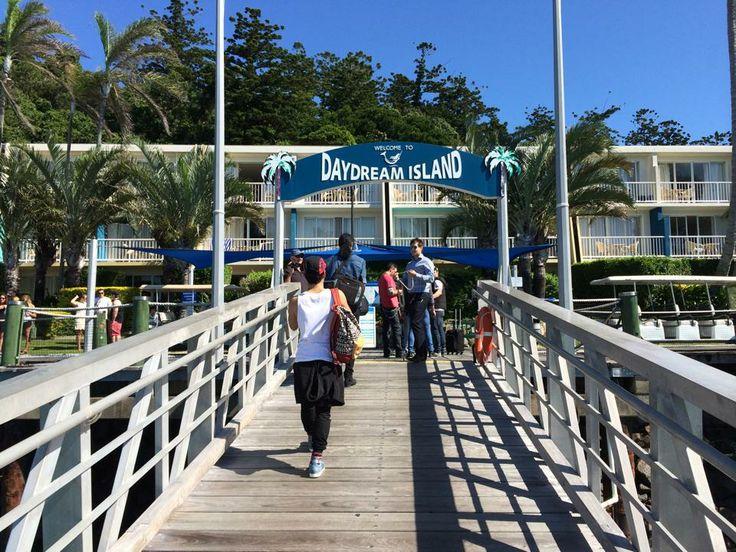 Arriving on Daydream Island