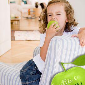Un tasto dolente per la maggior parte dei genitori che vedono storcere il naso dei bambini ogni volta che gli si propone un po' di verde nel piatto... invece è importante mangiare frutta e verdura pi