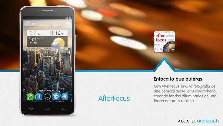 Enfoca lo que quieras con AfterFocus: lleva la fotografía de una cámara digital a tu smartphone, creando fondos difuminados de una forma natural y realista.