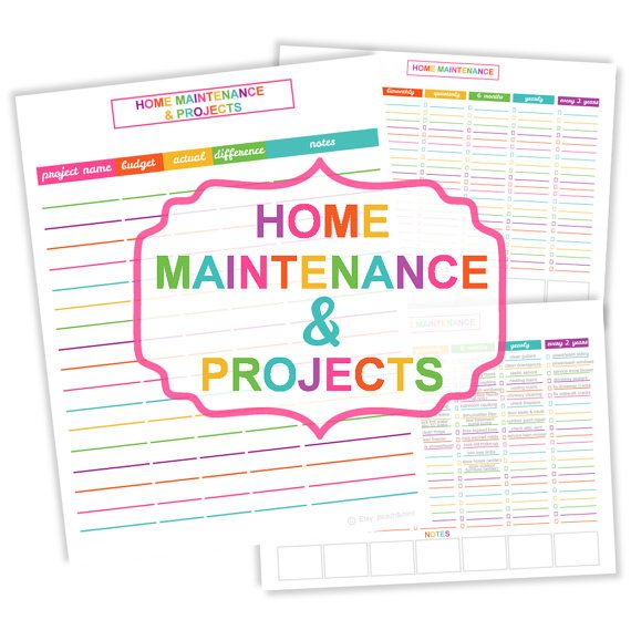 Home Maintenance Checklist Printable - CarDrivers