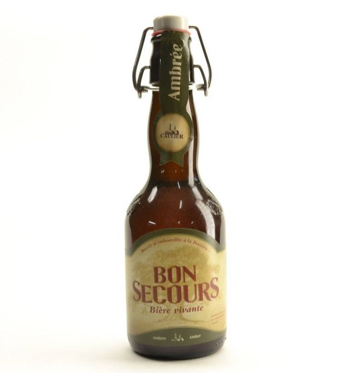 Bon Secours Ambree - 33cl. Buy your Bon Secours beer and matching beer glass in this online shop. This Belgian Bon Secours beer is amber coloured and brewed by Caulier brewery. Enjoy this Belgian ambree ale.