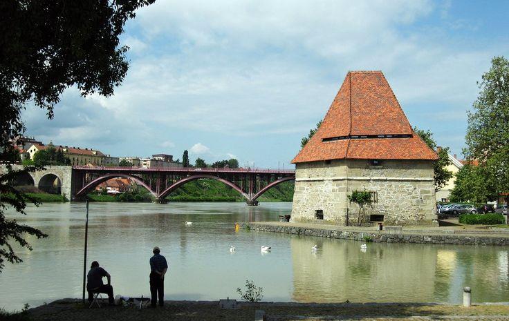 Water Tower Maribor winebar inside