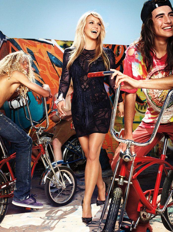 Britney Spears for Harper's Bazaar US (june - july 2011)