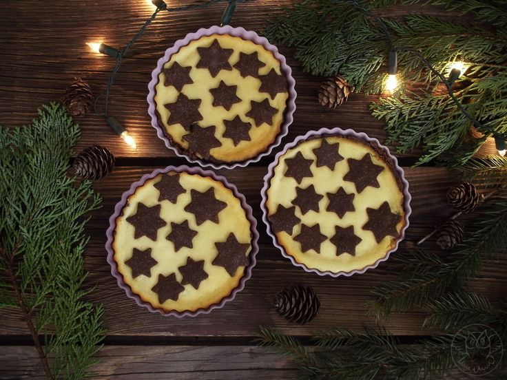 Cheese tartlets for Christmas