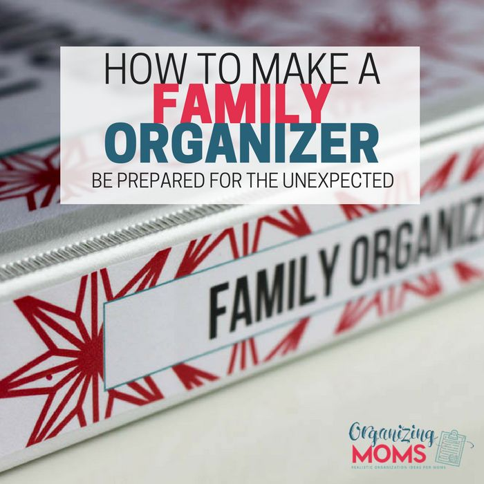 Have you ever felt like no one else could do what you do as a mom? Do you worry about what would happen if you needed to be on bedrest or leave town for a family emergency? The answer to many of your worries is a Family Organizer. It puts all of your important information …