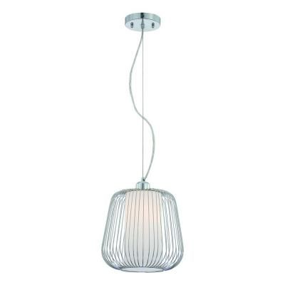 For The Canopy Embly Eurofase Corral Collection 1 Light Chrome Pendant 20364