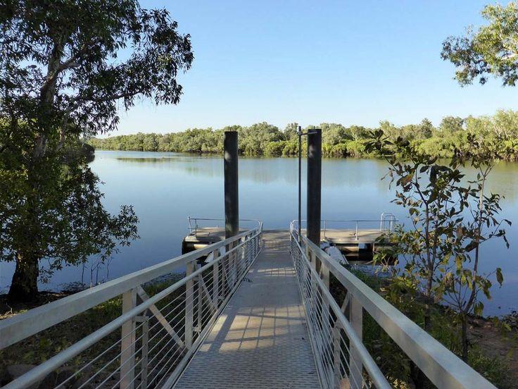 Home Billabong Jetty, near Cooinda Lodge, Kakadu NT.  See more at: www.rvtrips.com.au/nt/cooinda-lodge-kakadu/home-billabong-jetty/  #homebillabongjetty #cooindalodgekakadu #nt