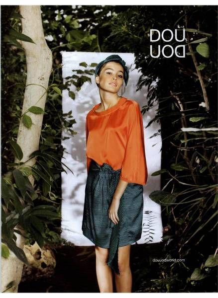 Douuod womenswear SS14 campaign