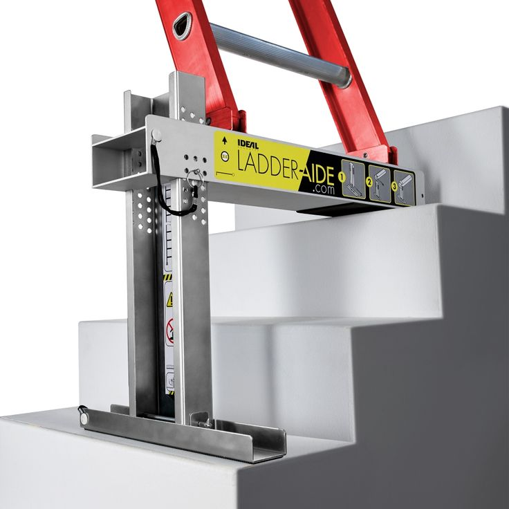 Ladder Aide Ideal Security Inc In 2019 Ladder Used