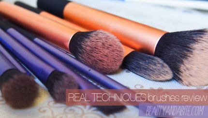 Real Techniques Make-Up Brushes In Canada (Review)