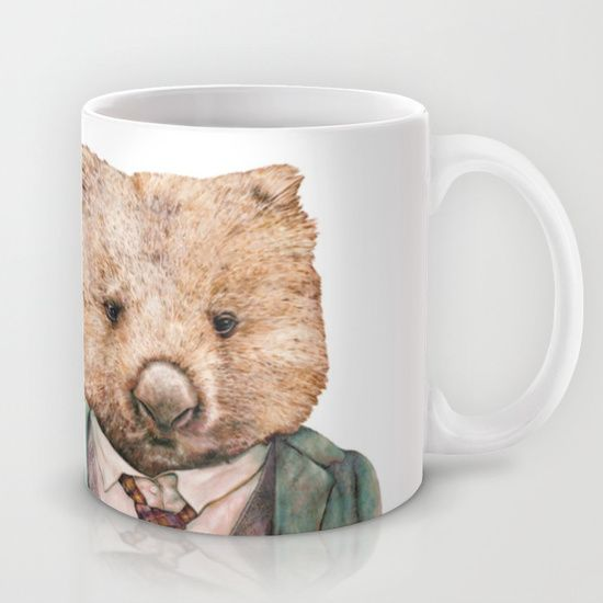 Buy Wombat by Animal Crew as a high quality Mug. Worldwide shipping available at Society6.com. Just one of millions of products available.