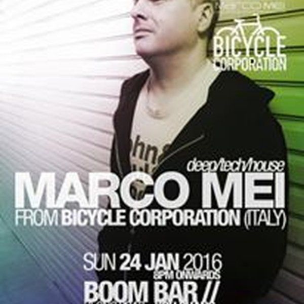 """Check out """"A Sunday evening in Thailand - Live at Boom Bar , Klong Prao - 24 January 2016"""" by Marco Mei(Bicycle Corporation) on Mixcloud"""