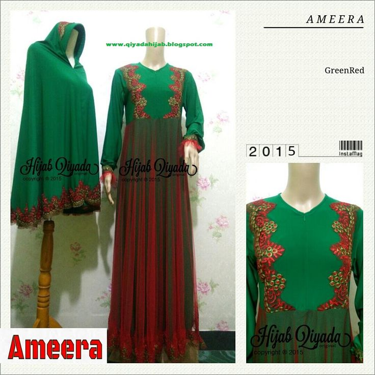 Code : Ameera Green Red Size : S M L XL size standart or you can request by your body size  Price : 495.000/set (size standart) dengan bergo standar size XL XXL + 50.000 XXXL +65.000 nambah size bergo tambah +15.000  SMS/WA 085743779298 pin BB 32834079  #muslim #muslimah #gamis #cantik #hijabsyari #hijaber