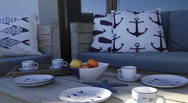 Inspiration bord de mer   Accessoires de décoration d'intérieur chez Westwing