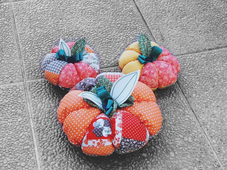 pumpkin, sewing