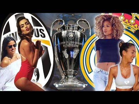 Champions League Final WAGs 2017 | Juventus v Real Madrid