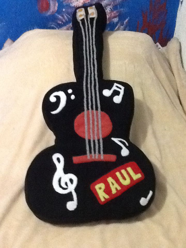 Cojín de guitarra!