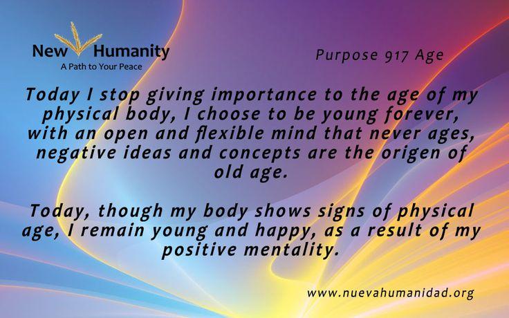 Purpose 917 Age
