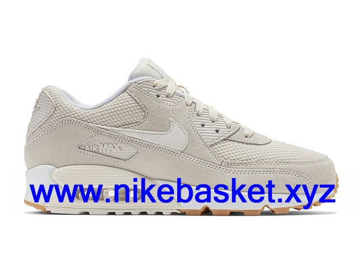 nike - air max 90 essential - baskets - grisrose