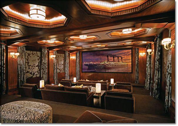 Movie Theatre. Home Theater DesignHome ...