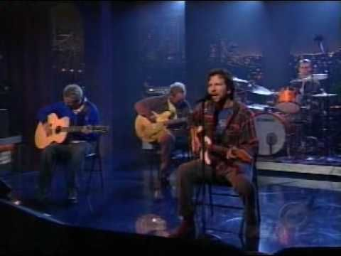 Pearl Jam - Masters Of War (Live On The Late Show With David Letterman 09. 30. 04)