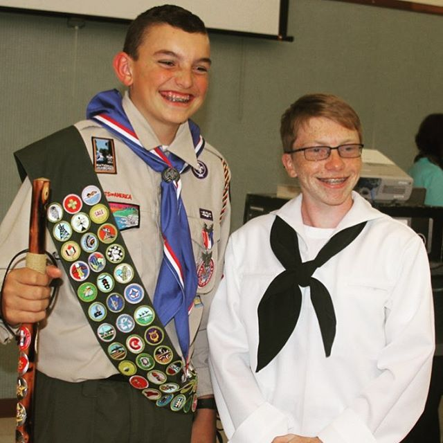 """I had the privilege to attend an Eagle Court of Honor for a Boy Scout who is also a #SeaScout on the @SSSGryphon. It was the most integrated Court of Honor with #SeaScouts I have seen. Many Sea Scouts attended in dress uniform. The new Eagle thanked Sea Scouts from """"helping me realize my next step in Scouting."""" The Scout wore his ship t-shirt under his Boy Scout uniform. The ceremony even included a discussion of the Sea Promise. The young man came up to me after the ceremony after learning…"""