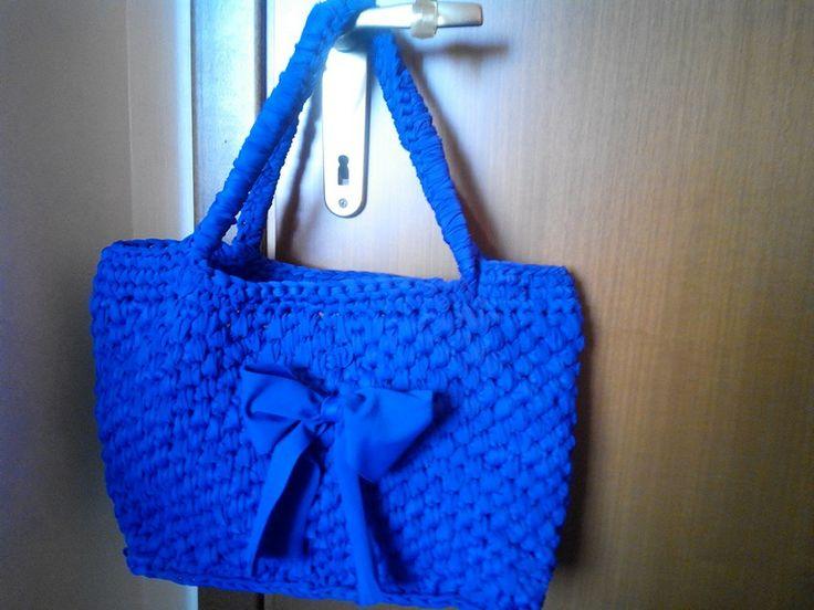 La mia borsa di fettuccia