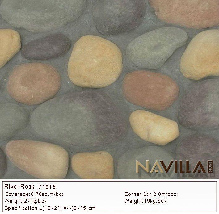 가짜 강 바위 돌 정원 벽 장식 벽난로 맨틀