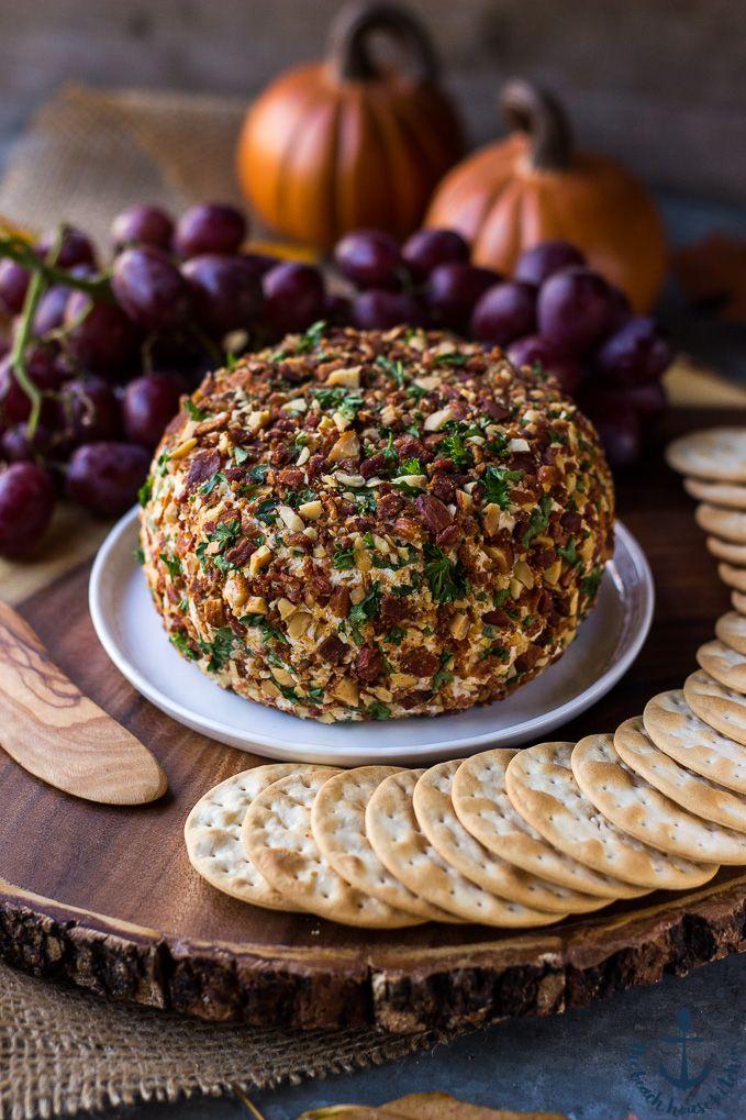 Jalapeño Bacon Ranch Cheese Ball | The Beach House Kitchen