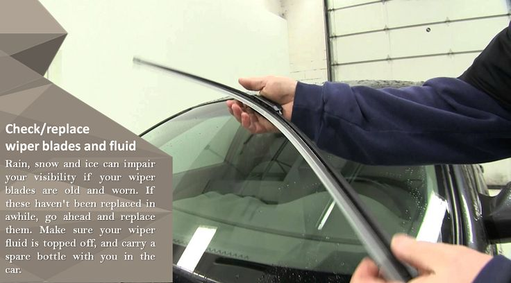 Inspect Your Wipers  The best time to change your windshield wipers is in the fall. The hot summer temperatures can warp the rubber and keep them from doing their job. With rain, snow and ice on its way, you need to make sure that your wipers are able to keep your windshield clear. #summertires