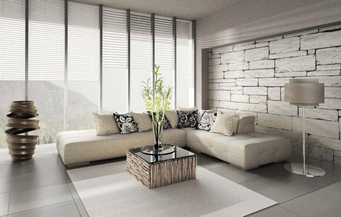 Die Tapeten Verleihen Dem Wohnzimmer Eigenen Charakter. Wenn Sie Aber Nach  Wohnzimmer Tapeten Ideen Suchen