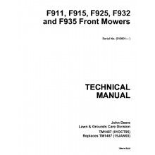 87373bcc8c946a676f74df51e2333765 repair manuals john deere john deere f911, f915, f925, f932 and f935 front mowers technical john deere f932 wiring diagram at couponss.co