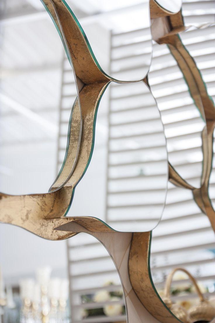 """Infinity""Mirror #RealClassic #GreenApple #GAhomestyle #homestyle #Decoration #gold #Mirror #infinity"
