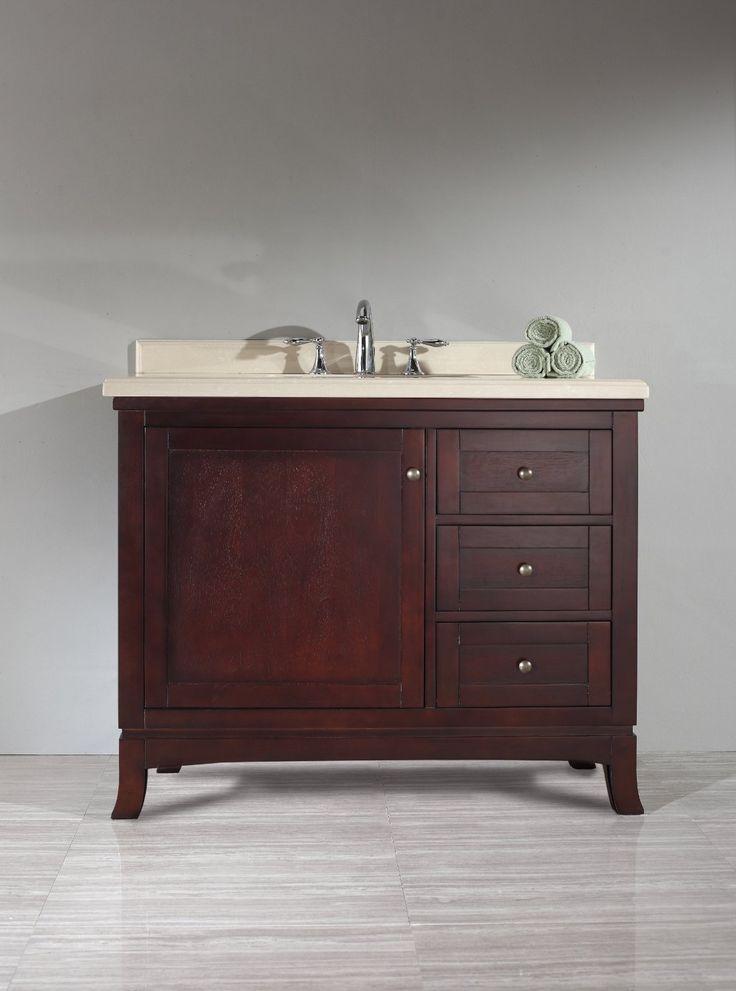 Amazon Com Ove Velega 42 Bathroom 42 Inch Vanity Ensemble