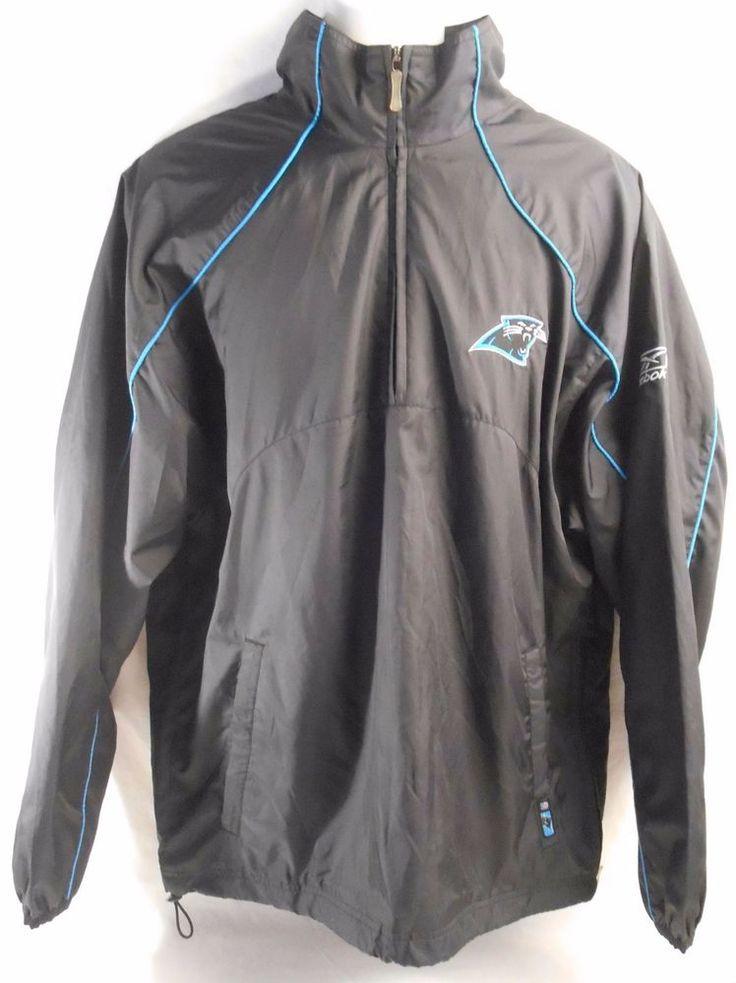 ... Top REEBOK Mens Jacket NFL Size Medium Carolina Panthers Team Apparel  Carolinapanthers jacket reebok ... b79527ecb