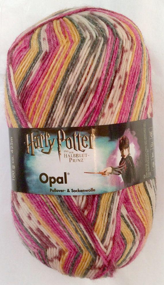 HARRY POTTER  Colorway: TONKS  Opal Sock Yarn  by SocksGalore