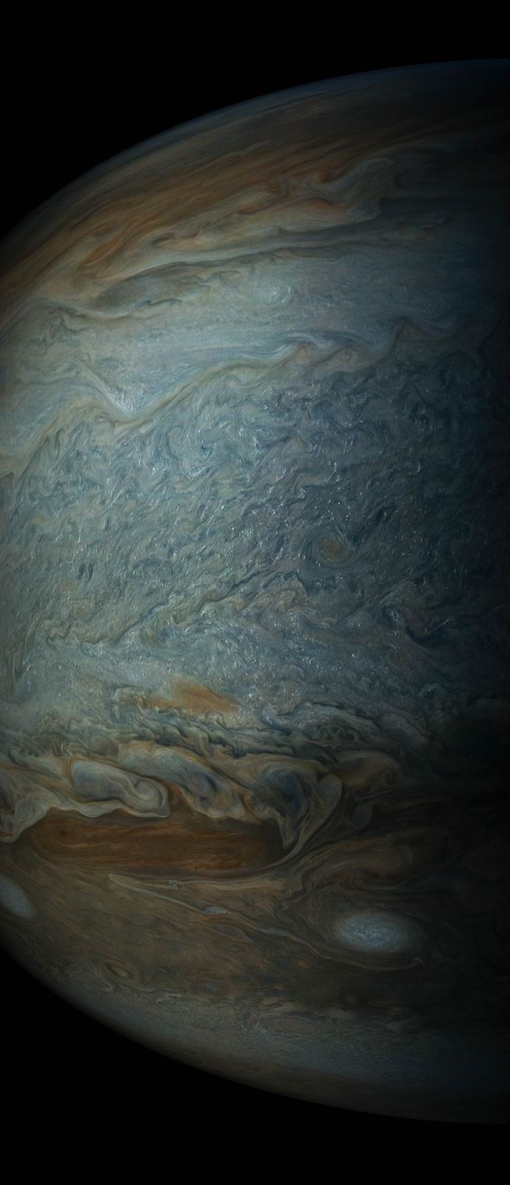 Jupiter's Clouds: May 19, 2017 | NASA Juno Mission  More information on the Juno mission is available at: www.nasa.gov/juno http://missionjuno.org  Credits: NASA/SWRI/MSSS/Gerald Eichstädt/Seán Doran Release Date: May 25, 2017  #NASA #Astronomy #Science #Space #Jupiter #Planet #Atmosphere #Clouds #Juno #Spacecraft #JunoCam #Exploration #SolarSystem #Technology #Engineering #JPL  https://plus.google.com/113507009175485747967/posts/GTcJJN2Riyo