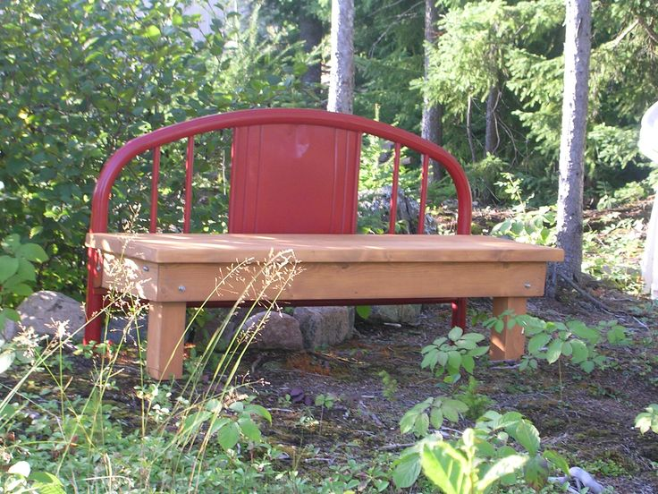 Footboard bench  1