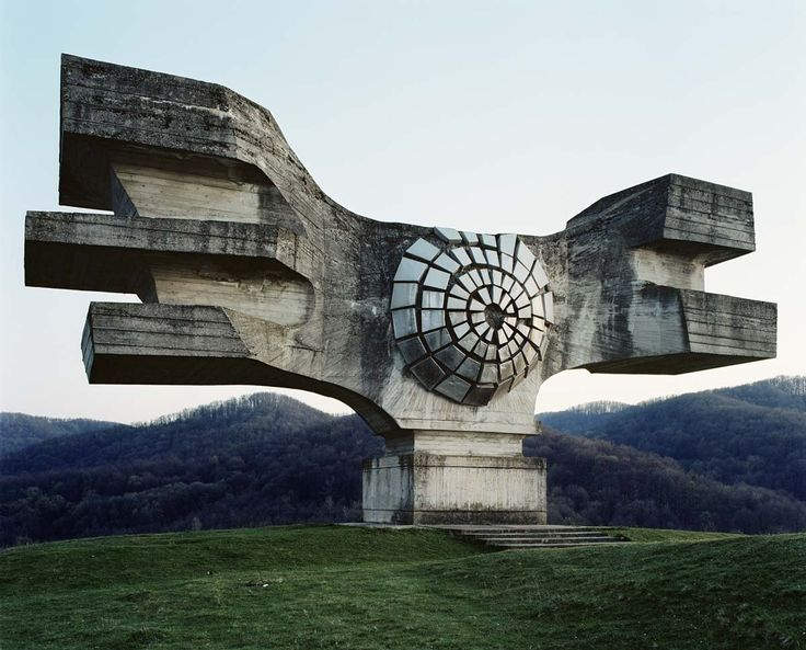Yugoslavian Monument Look Like Relics From An Alien Civilization