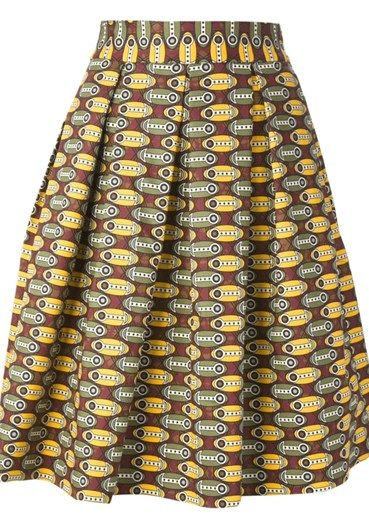 STELLA JEAN - Midi skirt#alducadaosta #newarrivals #sixties #fever #trend #women #apparel #accessories #prints #colors #classy #style #fashion #fallwinter #fall #winter #collection #stellajean