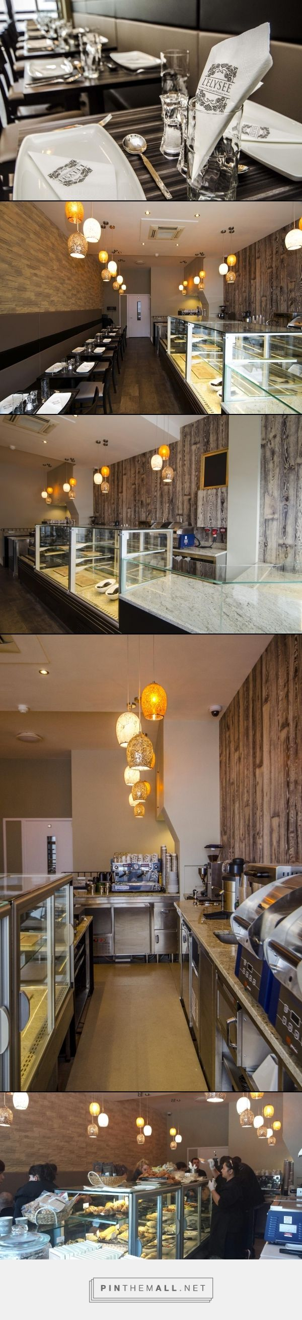 Catersales worked with artisan patisserie L'Elysee in Hammersmith, London to create an effective layout and counter solution. The front counter displays and back bar counters are bespoke to this popular coffee shop. #coffeeshopdesign #coffeeshopequipment #patisserie #interiordesign #marble #counterdesign