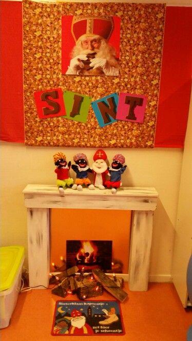 Aankleding Sinterklaas