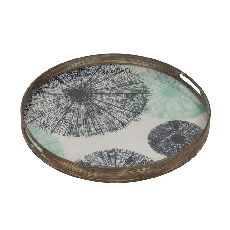 Discover the Notre Monde Umbrellas Glass Tray at Amara