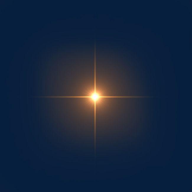Light Effects Light Source Glare 렌즈 반짝이 디자인