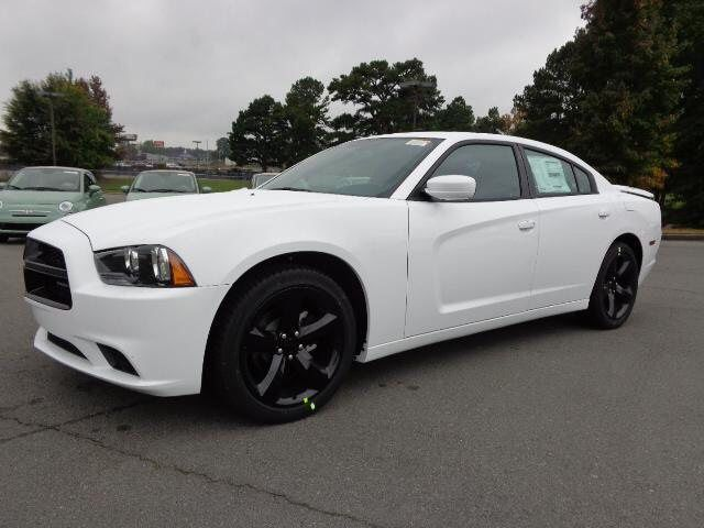 blacked out white dodge charger