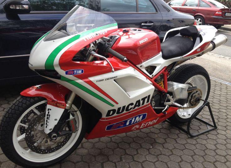 Ducati 1098 в городе DE-91522Ansbach Германия